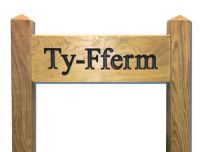Ladder Sign (Medium) on 75mm (3in) Posts