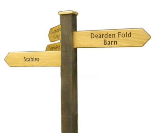 Sign / Finger Post (Multiple Directions)