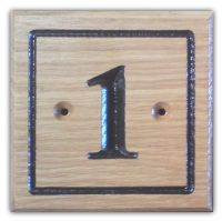 Square/Rectangular Number Sign