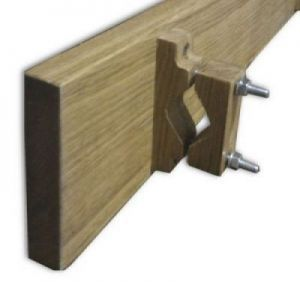 Sign Bracket for Round Bar Gates